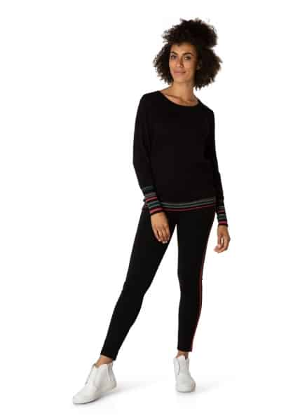 zwarte dames trui