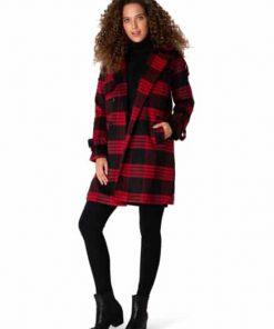 Zwarte winterjas Yest Fashion by Fleur Niet goed? Geld terug.