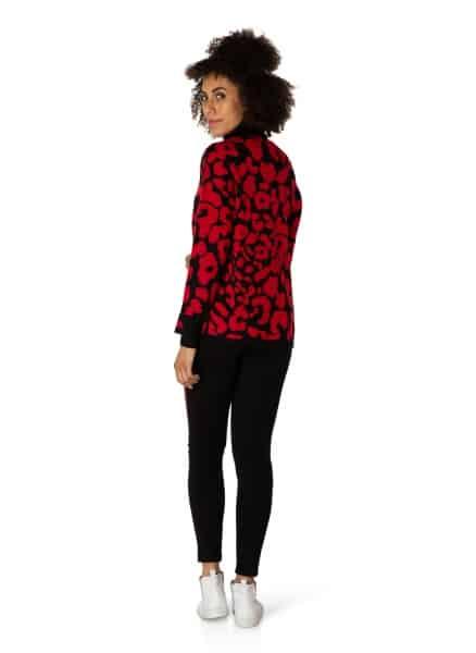 Coltrui zwart rood dames - Yest 3