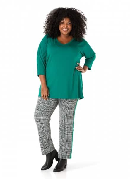 Groen dames shirt -By Bella 1