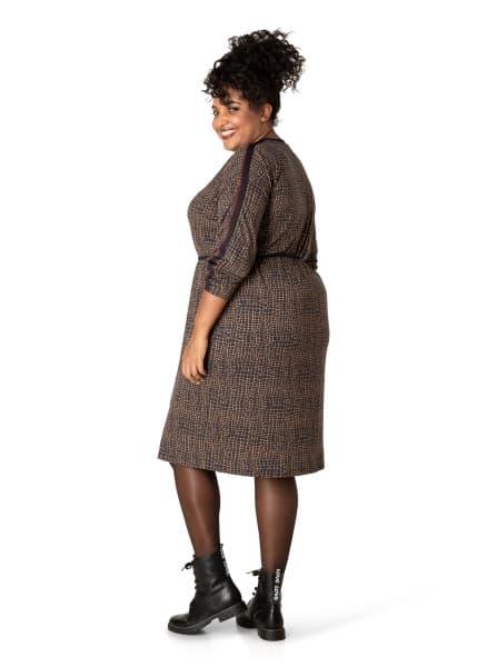 Croco plus size jurken - By Bella 2