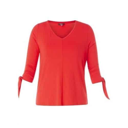 rood v hals shirt