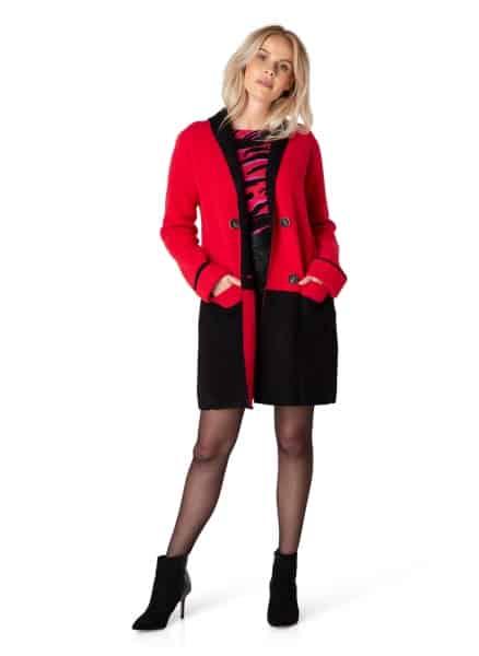 rood vest dames