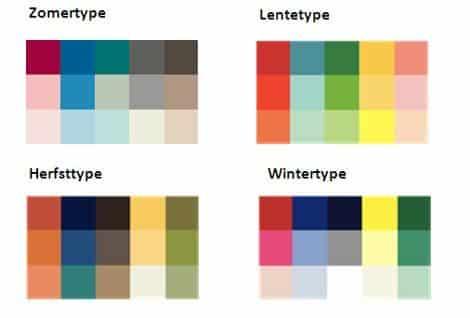 welk kleurtype ben jij?