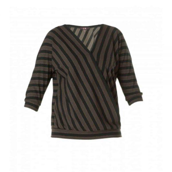 overslag blouse