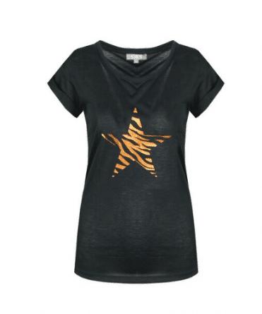 t shirt met print dames