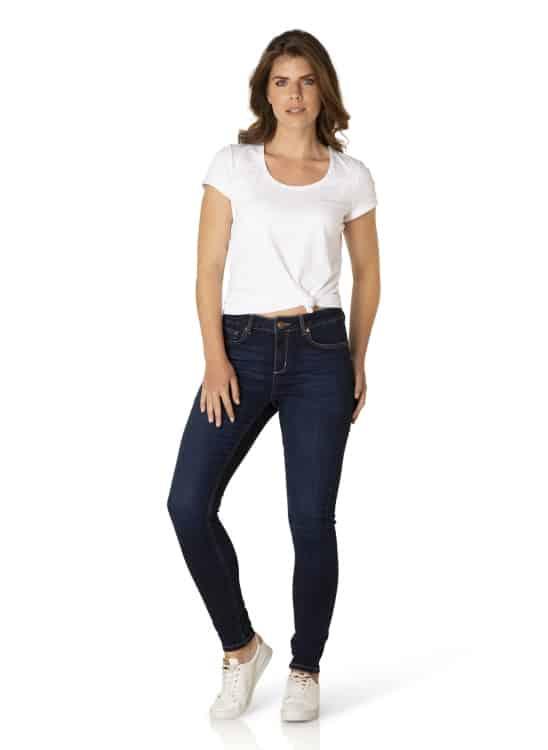 slim fit jeans dames