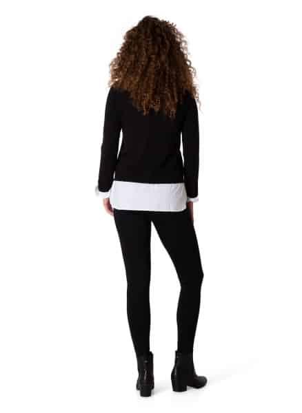 Zwarte trui dames - Yest 1