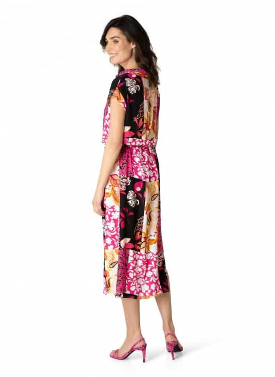 Lange mouwloze jurk- Yest 1