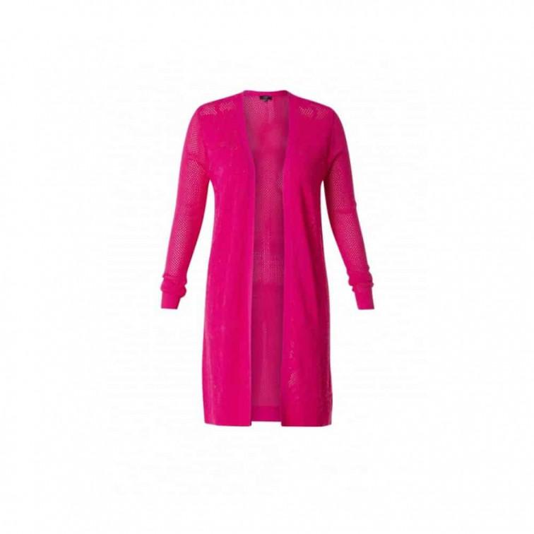 lang roze vest