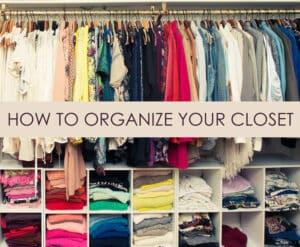 organiseren van je kledingkast