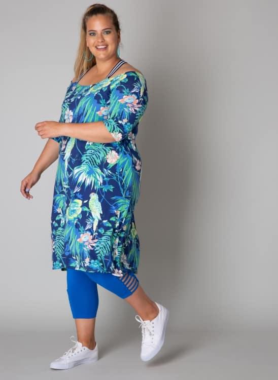 Zomerse jurk met print - Yesta 1