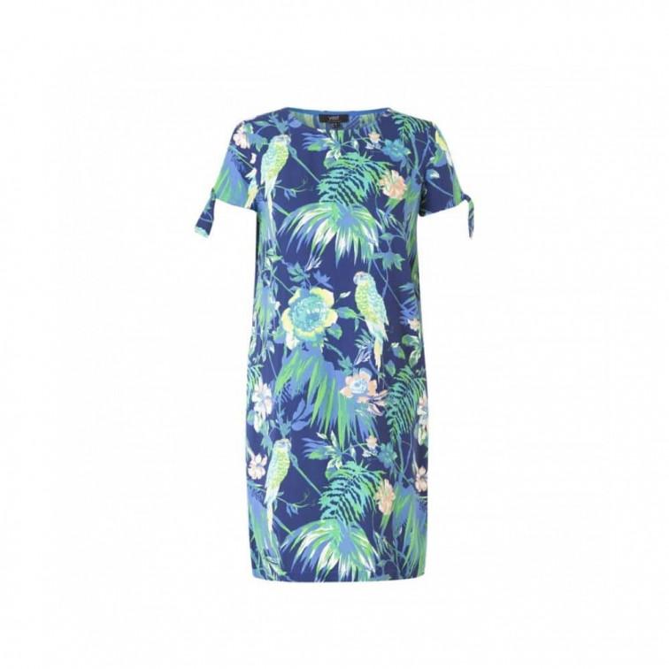 jurkje met tropische print