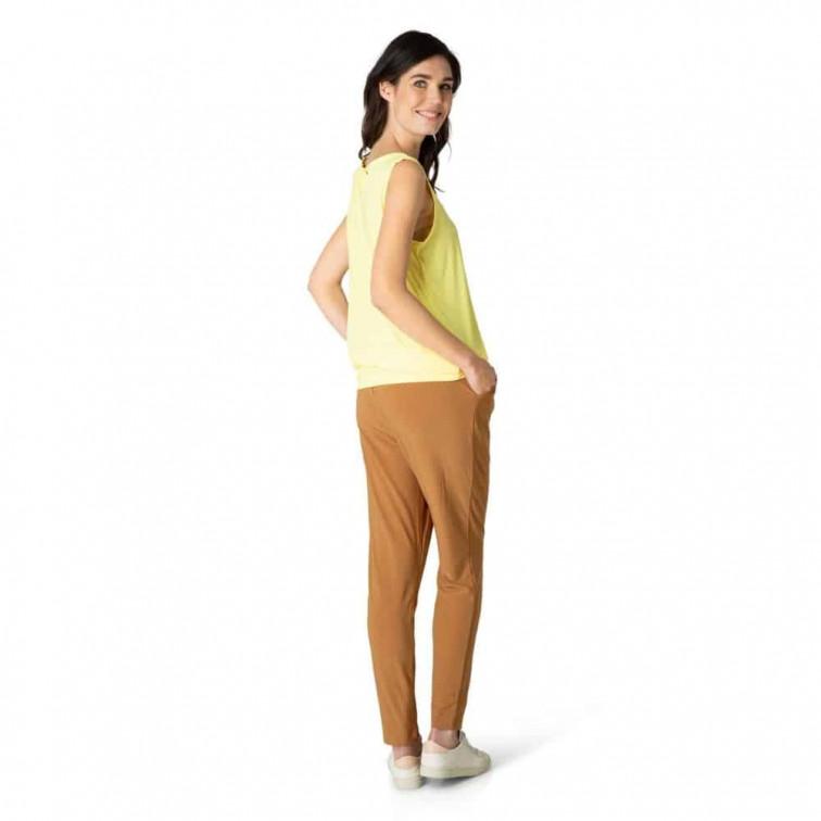 Gele dames top - Yest 1