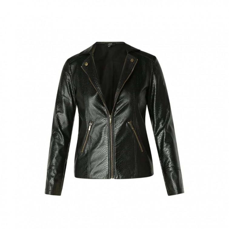 zwart biker jasje dames