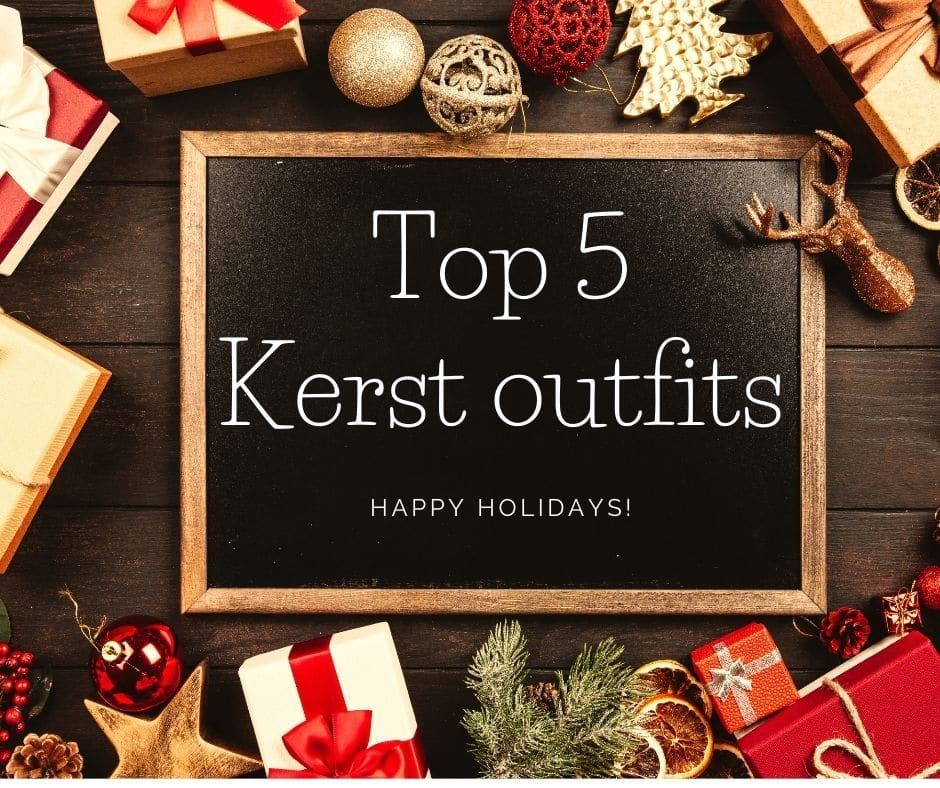 top 5 kerst outfit