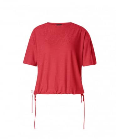 dames shirt rood
