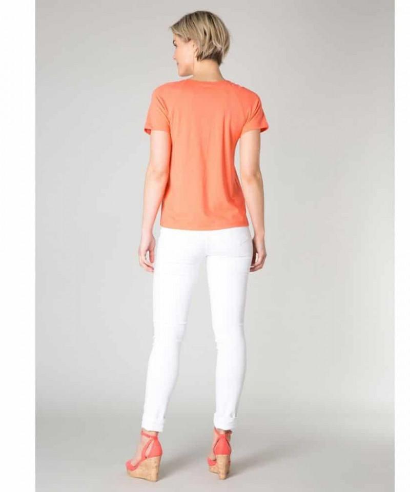 zalmroze shirt dames