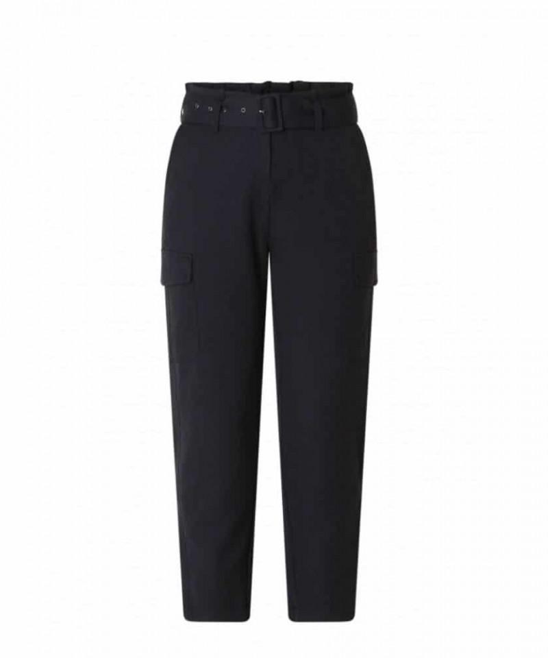 donkerblauwe dames pantalon