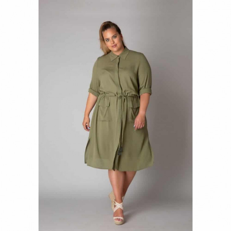 Knielange jurk - Yesta 1