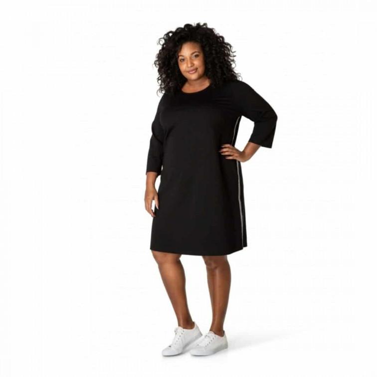 basic zwart jurkje_