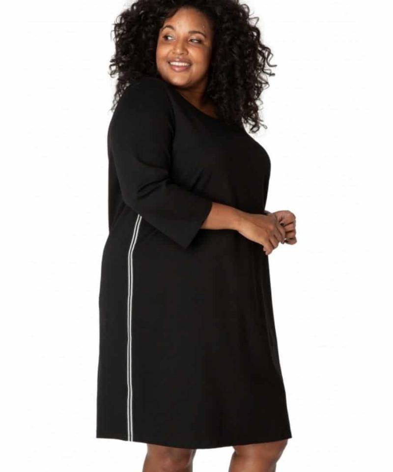zwart jurkje grote maat