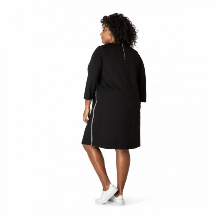 zwarte jurk plus size