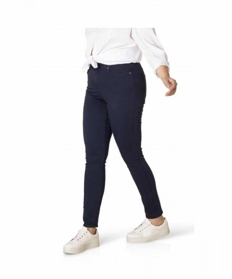 blauwe spijkerbroek dames