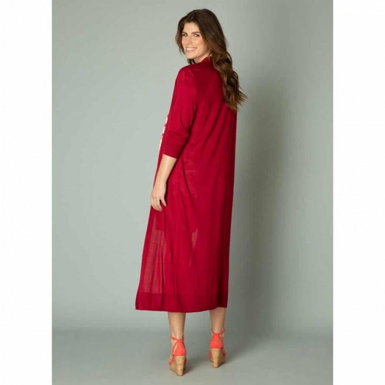 rood lang vest