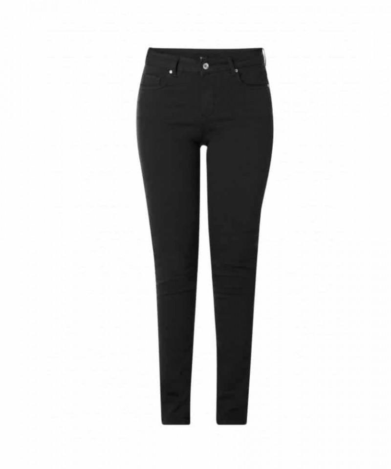 zwarte dames spijkerbroek