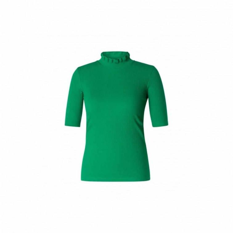 groen shirt dames