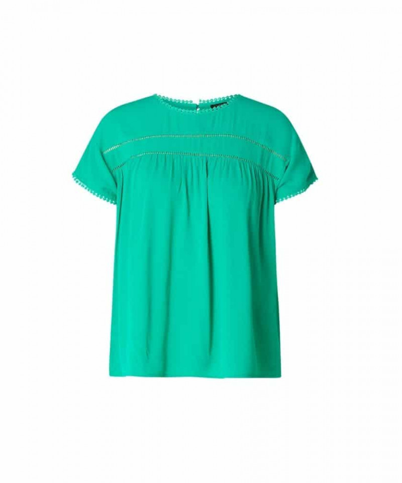 groene top dames