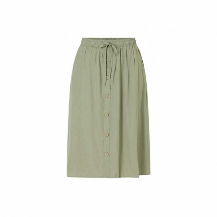 midi rok groen