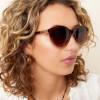 dames zonnebril bruin