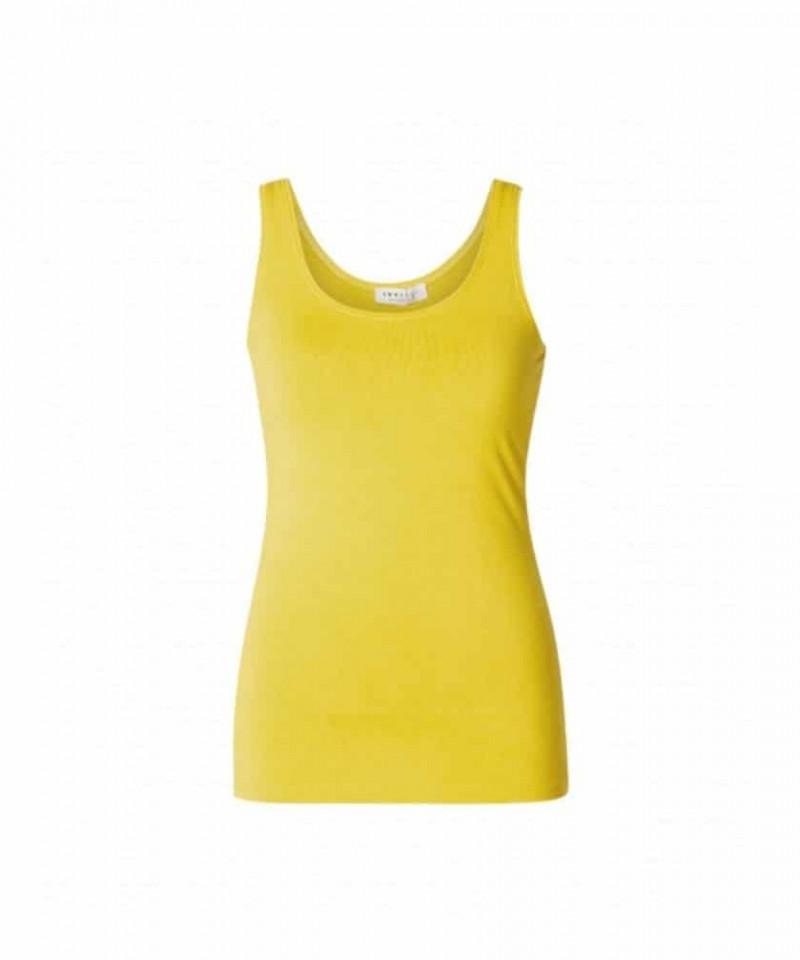 geel topje dames