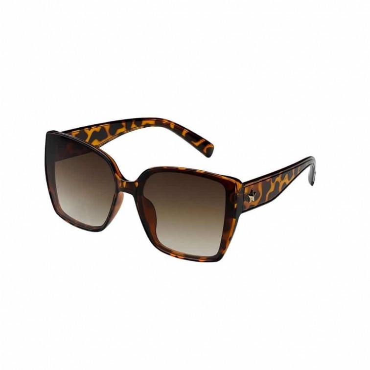 vierkante zonnebril dames