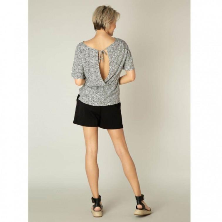 zwarte korte broek dames