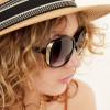 zwarte zonnebril dames