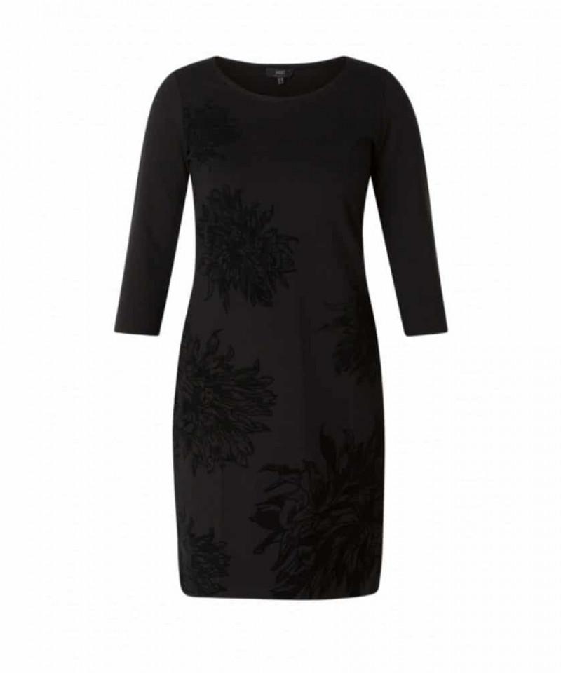 zwarte dames jurk