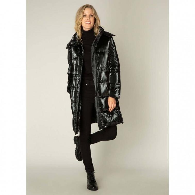 Lange zwarte winterjas - Yest Winter Outerwear 2