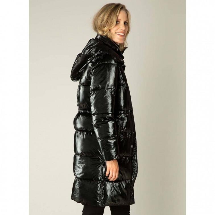 Lange zwarte winterjas - Yest Winter Outerwear 3