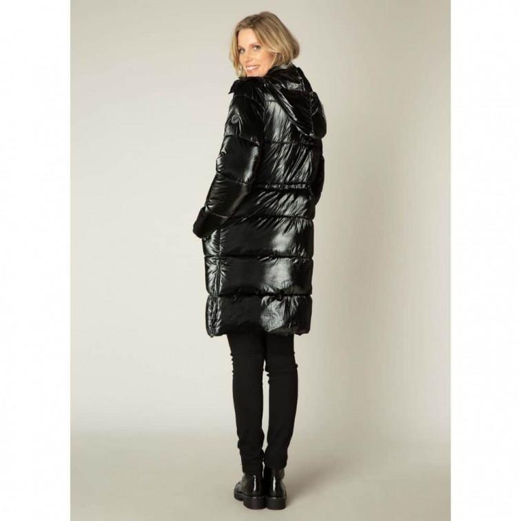 Lange zwarte winterjas - Yest Winter Outerwear 1