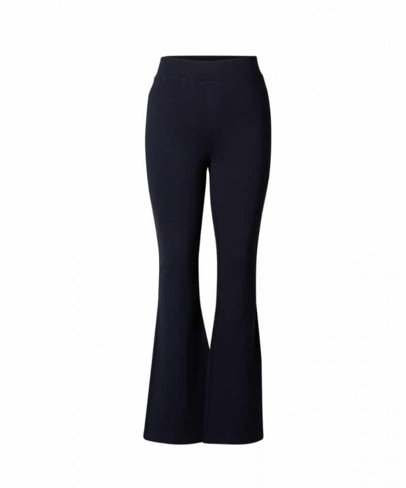 donker blauwe flair broek