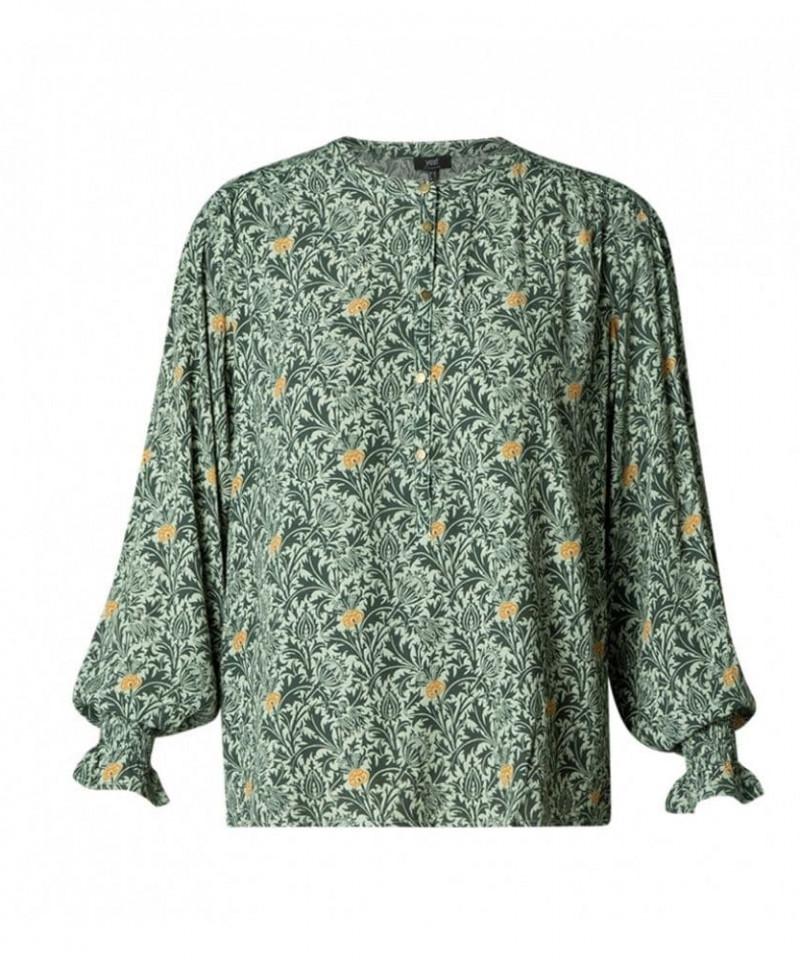 blouse met print dames