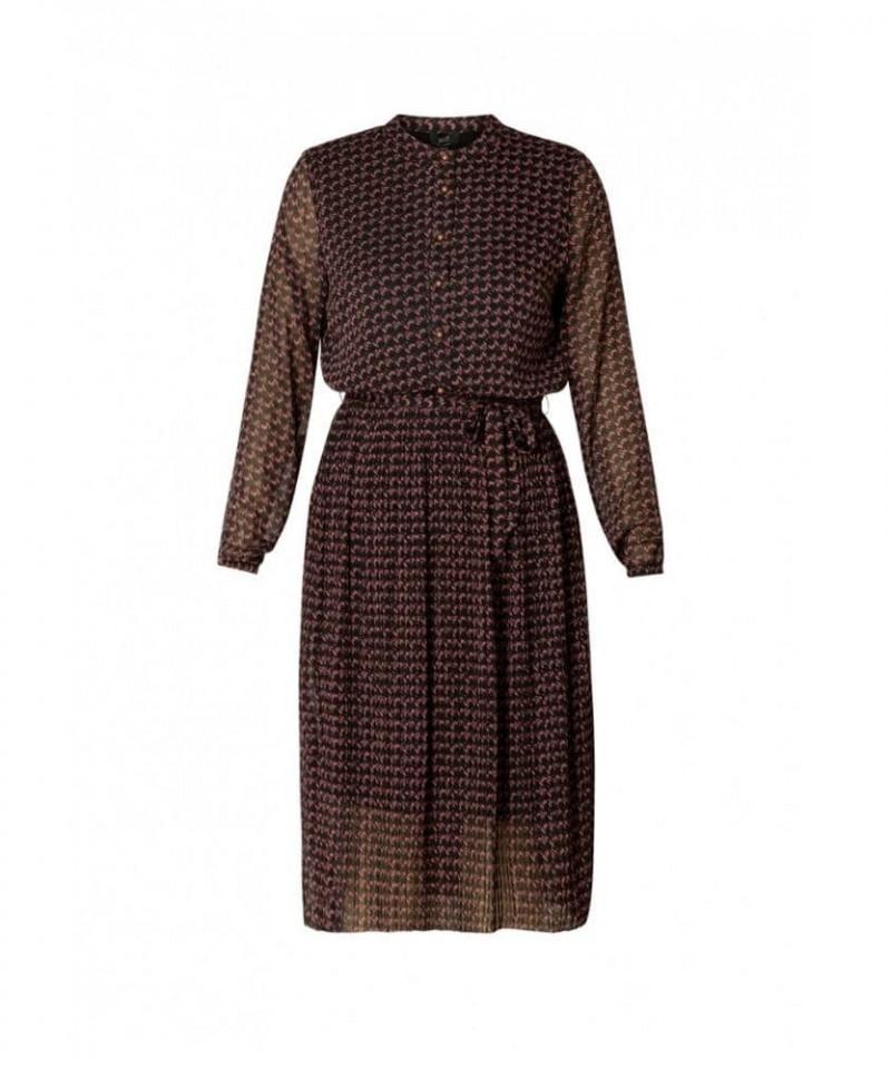semi transparante jurk