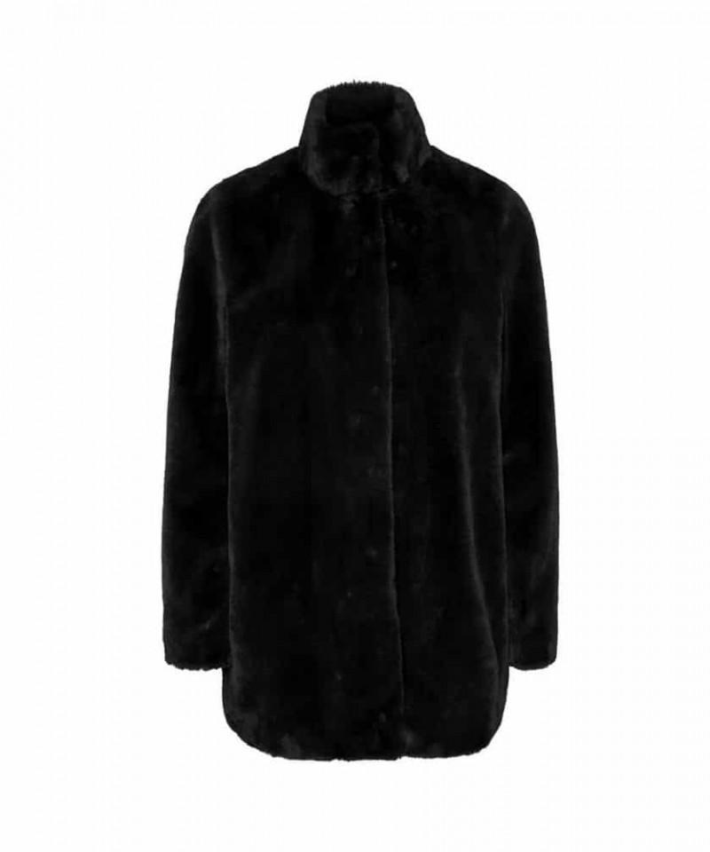 faux fur jas vero moda